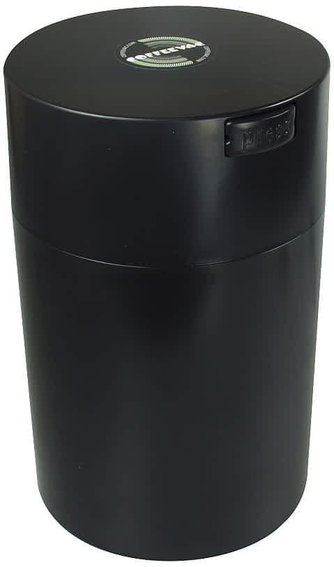 Coffeevac 1 Pound Solid - Black Cap