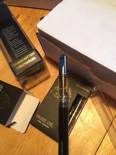 secret garden vape pen